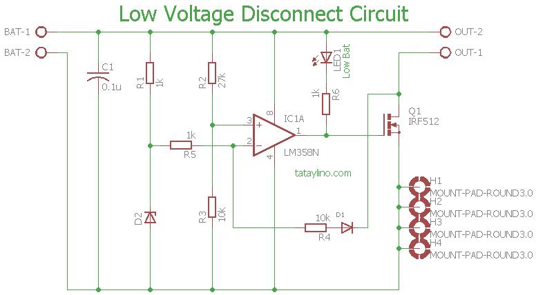 Lvd Circuit Diagram | Wiring Diagram