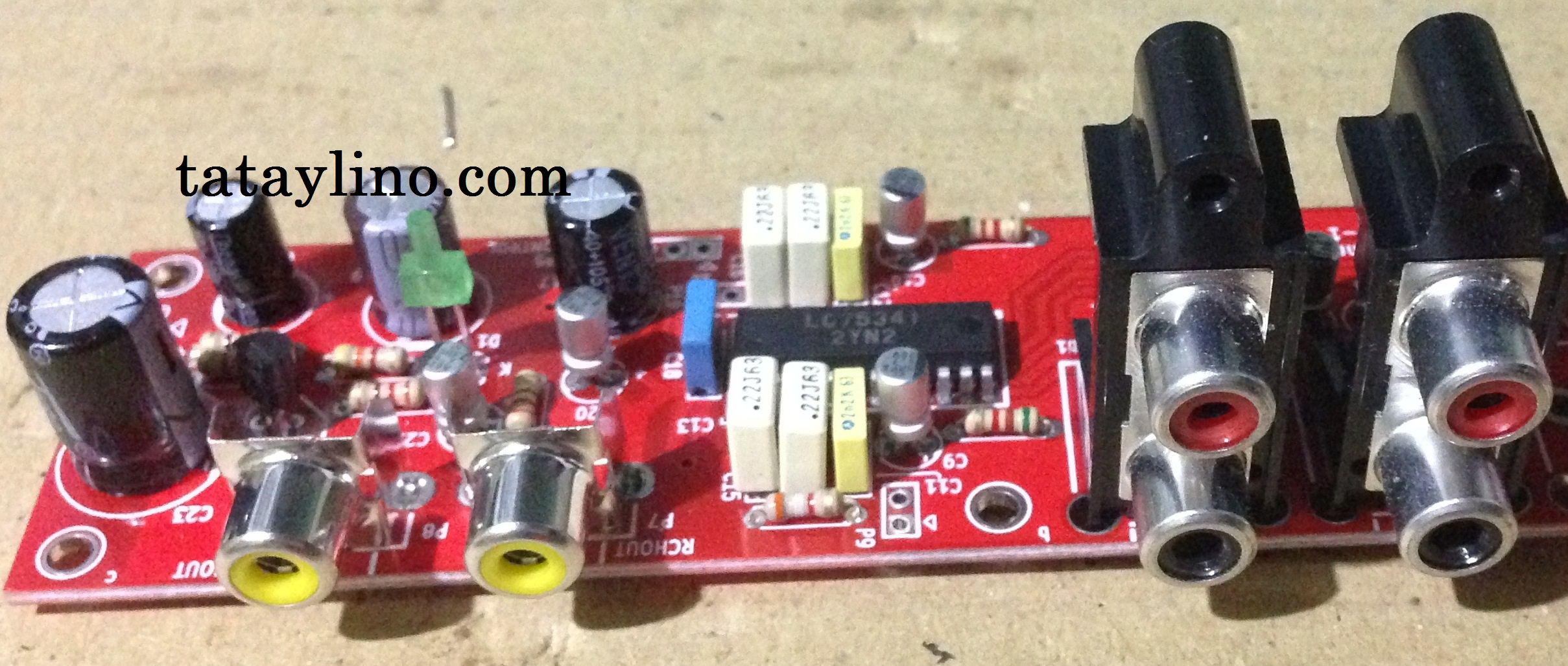 Lc75341 Tone Control Using Arduino Digital Volume Circuit You Can Parameters Such As Bass Treble And Gain Through Its Serial Data Transfer